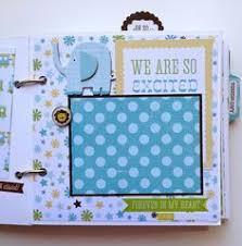 baby boy scrapbook album scrapbook mini album baby boy premade personalized boys baby