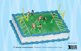 football cake football cake kit 7 player cake connection