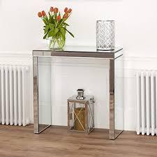 Venetian Console Table Venetian Mirrored Compact Console Table Amazon Co Uk Kitchen U0026 Home