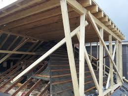 hip to gable loft conversion mid construction flat roof dormer
