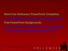 free halloween powerpoint templates 8