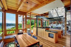 awesome home interiors beautiful house of wood and steel on bainbridge island