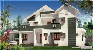Villa Designs by Luxury Modern Villa Elevation Kerala Home Design And Floor Plans