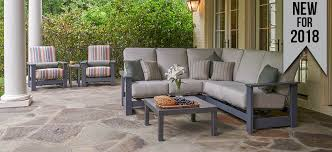 Patio Furniture Couch by Telescope Casual Furniture Quality Outdoor Furniture Made In The Usa