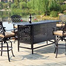 Cast Iron Patio Furniture Sets by Patio Furniture Bar Set Furniture Design Ideas
