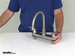 rv kitchen faucets faucets rv kitchen pf231402 review etrailer com