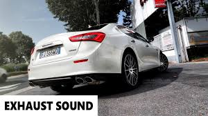 maserati ghibli s q4 exhaust sound 2017 enjoy youtube