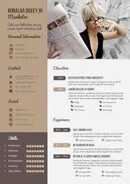 Indesign Template Resume Design Haven Resume Cv Template With Portfolio A4 Us Indesign 2015
