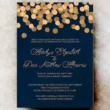 Wedding Invitiations Navy And Gold Wedding Invitations Reduxsquad Com