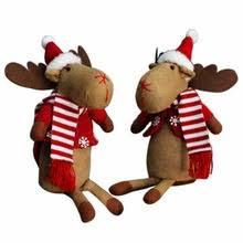 popular sitting reindeer decoration buy cheap sitting reindeer