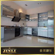 Kitchen Set Aluminium Composite Panel Modular Kitchen Modular Kitchen Suppliers And Manufacturers At