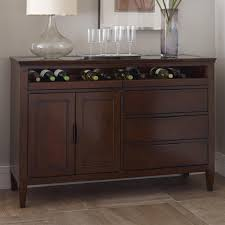 kincaid furniture elise transitional solano wine server with pull