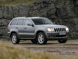 jeep grand cherokee gray jeep grand cherokee overland uk 2008 pictures information