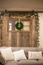 Home Decor For Christmas Barn Door Decor For Christmas