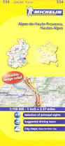 Provence France Map by Michelin Map France Alpes De Haute Provence Hautes Alpes 334