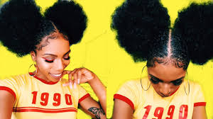 african american 70 s hairstyles for women 5 afro puff baby hair goals style torial 90s 70s inspired