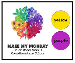 make my monday colour wheel challenge 3 complimentary colours