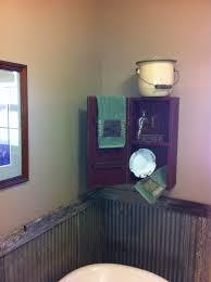 primitive bathroom cabinet primitive decor pinterest trout