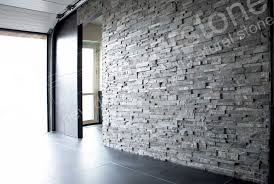 Stone Wall Tiles For Living Room Charcoal Stacked Stone Veneer Rock Panels For Walls By Norstone