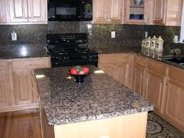 granite kitchen backsplash stainless steel backsplash with granite countertops kitchen