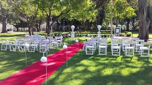 wedding ceremony hire fairytale events