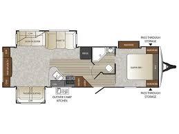 Outback Campers Floor Plans 2016 Keystone Outback 298re Camper Ebay