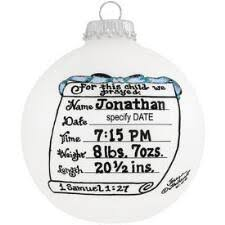 personalized baby christmas ornament new baby new parent christmas ornaments bronner s christmas