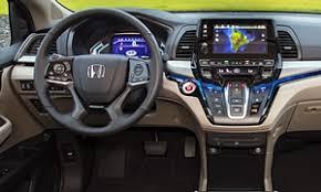 Honda Odyssey Interior Honda Odyssey Vs Honda Pilot 2017 Specs
