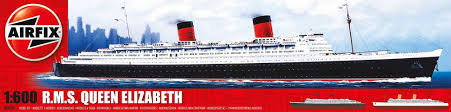Queen Elizabeth Ii Ship by Airfix Plastic Kits Ships New Modellers Shop