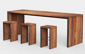 Wooden Bar Table Modern Wooden Bar Tables Custom Made In Mexico