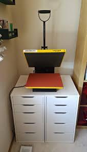 heat press u0026 vinyl storage from ikea ikea alex drawers alex