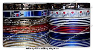 designer ribbon 78 34 inch wars inspired usdr us designer ribbon printed
