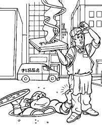 teenage mutant ninja turtles coloring pages tag ninja