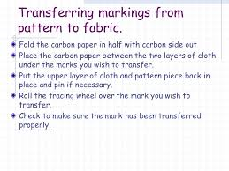 How To Make Carbon Paper At Home - using commercial patterns trimming pinning cutting out