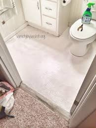 Best Primer For Bathroom by How I Painted Our Bath Tub Tile U0026 Floor Diy Under 30
