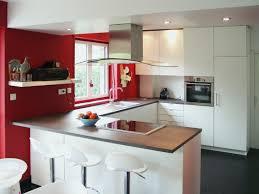cuisine ouverte avec ilot table meuble ilot central cuisine meilleur de uhe grande cuisine ouverte