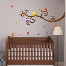 Owl Nursery Wall Decals by Giraffe Growth Chart Nursery Wall Decals Wallsneedlove