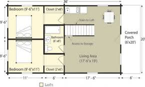 small log cabin homes floor plans home loft house plans 58798