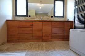 meuble sous vasque sur mesure cuisine meubles de bain forgiarini meuble bois salle de bain