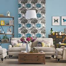 Beige And Blue Living Room Home Design Ideas - Blue family room ideas