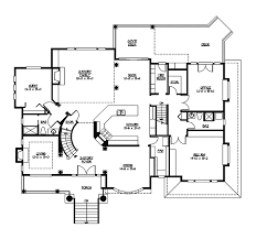 Gardencrest Rustic Home Plan 071s 0034 House Plans And More Centralized Kitchen Floor Plans