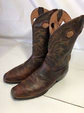 s justin boots size 12 mens justin boots cow 12inch brown 12 d ebay