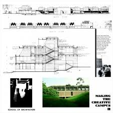 Louis Kahn Floor Plans by Making A Campus For Creative Learning An Exhibition Of Prof B V
