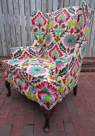 Floral Accent Chair Living Room Vale Open Back Slipper Accent Chair Floral In Floral