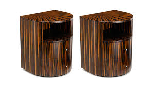 bedside table key pair of arc bedside tables buy online at luxdeco