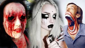 top 20 diy halloween makeup tutorials compilation 2017 scary