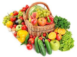 fruit and vegetable basket fruit and vegetable in basket stock image image of grape crop
