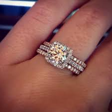 wedding ring with two bands two wedding bands around engagement ring kubiyige info