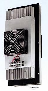 Cabinet Coolers Hoffman Mclean Te090624020 60 W 204 Btu Thermoelectric Cooler