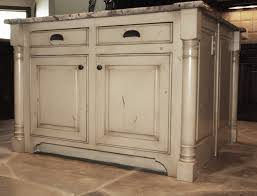 kitchen islands with posts islands kitchen island four corner post raised panel ends home